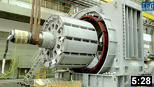 Induction generators operate by mechanically turning their rotor faster than the synchronous speed,